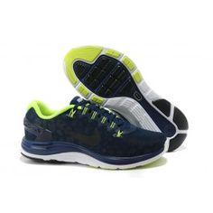Verkaufen Nike LunarGlide+ 4 Shield Männer Dunkelblau Grün Schuhe Online | Beste Nike LunarGlide+ 4 Shield Schuhe Online | Nike Schuhe Online Und Günstige | schuheoutlet.net