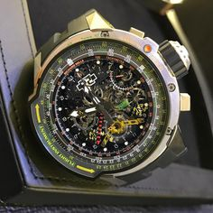 We see the caption 'it's complicated' a lot. Never has that applied more than here. Richard Mille RM039, enough said. Feel free to zoom in if you dare, your welcome.