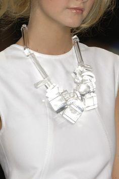oscar de la renta - Lucite | Acrylic Accessories | 2014 Fashion Trend