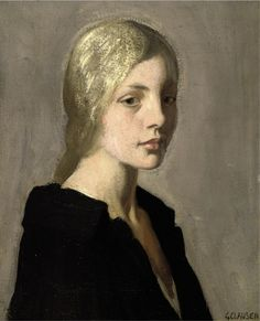 Lily, George Clausen - I like the colors used for blond