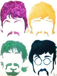 The Beatles vintage poster