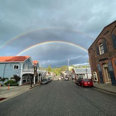 Double rainbows over Nevada City in Northern California. Gold rush era town perfect for road trips from Sacramento and the Bay Area. Stay at the Outside Inn Motel. Photo by VisitNevadaCity in Nevada City, California with @zachariahhaller, and @visitnevadacity. Image may contain: sky, cloud and outdoor