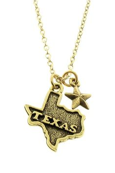 TX State Necklace