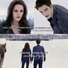 I will do everything in my power to protect you - Edward and Bella