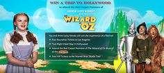The Wizard of Oz 75th Anniversary Sweepstakes Enter at wholemom.com