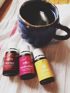 Diffuser blend for flu and colds on Barefoot In Blue Jeans: Purify With Young Living Essential Oils