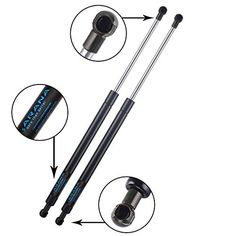 ARANA 2 Rear Trunk Gas Lift Supports Struts Liftgate Springs Shocks for 2005-2010 Scion TC Hatch. For product info go to:  https://www.caraccessoriesonlinemarket.com/arana-2-rear-trunk-gas-lift-supports-struts-liftgate-springs-shocks-for-2005-2010-scion-tc-hatch/