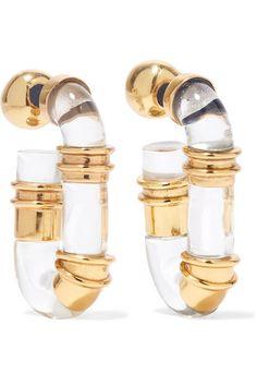 Bell-back fastening for pierced ears