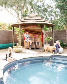 Photo from Weekend Plans, Long Weekend, Quality Time, Cabana, Gazebo, Home And Garden, Backyard, Exterior, Outdoor Structures