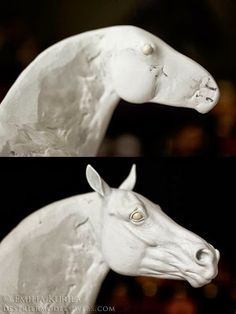 The HeadTutorial, Part One byEmilia Kurila. I love seeing how other artists go about their sculpting, everyone is different! This lady uses epoxy like I do, so it's definitely interesting to me!