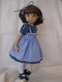 034 All Blues 034 Fits 13 034 Effner Little Darling Vinyl Doll by Darla 039 s Delights | eBay. SOLD for $40.09 on 10/11/14