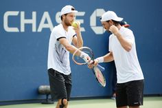 Doubles kicks off   August 31, 2016 - Joao Sousa and Gastao Elias in action against Jamie Murray and Bruno Soares during the 2016 US Open at the USTA Billie Jean King National Tennis Center in Flushing, NY.