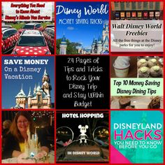 24 Pages of Tips and Tricks to Rock Your Disney Trip and Stay Within Budget