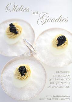 Casamento buffet - devilled eggs - canapé (Buffet: Zest | Foto: Rogerio Voltan)