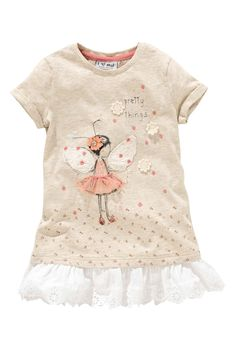 Buy Oatmeal Embellished Fairy Tunic (3mths–6yrs) from the Next UK online shop