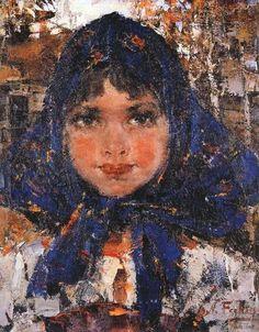 Nicolai Fechin, Girl.