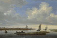 Salomon van Ruysdael (c. 1602, Naarden - buried November 3, 1670, Haarlem) was a Dutch Golden Age landscape painter. He was the uncle of Jacob van Ruisdael.