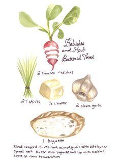 Radish and Butter Recipe