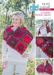 Perfect for a beginner, this versatile garment will keep you warm this winter Knitting Patterns Free, Free Knitting, Free Pattern, Crochet Patterns, Shawls And Wraps, Crochet Clothes, Crochet Necklace, Classic, Cowls