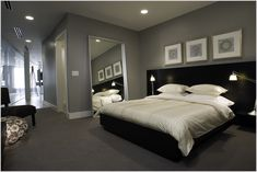 grey walls bedroom carpet - Google Search                                                                                                                                                      More