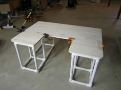 PVC desk More