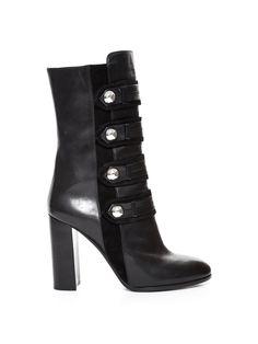 Arnie military leather boots   Isabel Marant   MATCHESFASHION.COM US