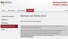 Rente mit 63 – wer wann gehen kann vorunruhestand.de