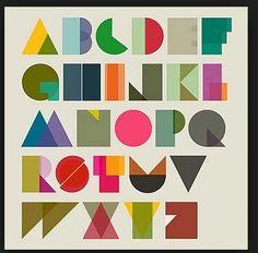 Geometric letters
