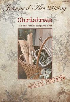 Jeanne d' Arc Living Christmas Book printed in Magazine Format $17.95
