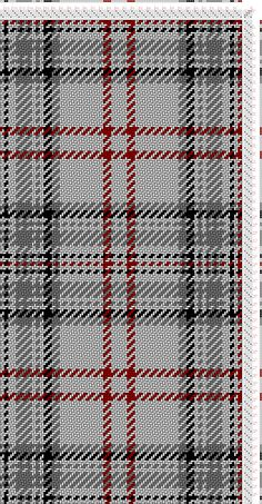 draft image: Balmoral (R2, W2, BK2, W4, GY8, W2, GY2, W2, BK4, GY4, W22, R4, W8), Scottish and Other Tartans Collection, 4S, 4T