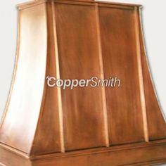 Standard Copper Range Hood by World CopperSmith