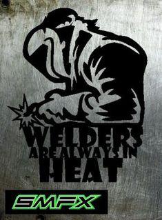 Welder metal sign by SCHROCKMETALFX on Etsy