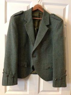 Scottish Highland Gentleman Day Jacket Raymond of Doune by Loch Carron Size 42S | eBay