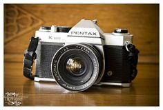 Pentax K-1000 My first (and last) really good camera.  Bought in England in 1985