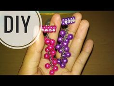 DIY    Cara Membuat Bros Dagu Juntai Kristal - Tutorial Bros Simple by Lista Tsurayya - YouTube