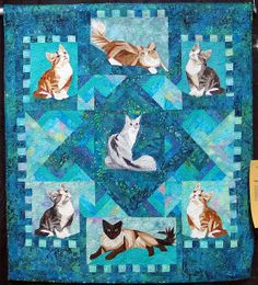 ♥ Cats Quilt