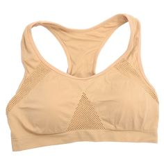 ELOS-Hot Selling Sports Bra Women Padded Top Athletic Vest Movement Sports Bra Yoga Top Aptitud Bra Popular (L)