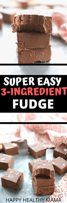 This is vegan and Keto chocolate fudge that is so quick and easy to make. We love this healthy dessert recipe so much. Gluten free dairy free and sugar free. Diabetic Desserts, Healthy Dessert Recipes, Vegan Desserts, Delicious Desserts, Snack Recipes, Strawberry Desserts, Diet Recipes, Healthy Food, Healthy Eating