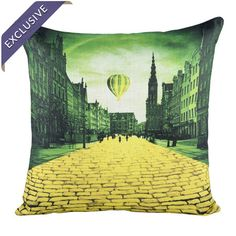 I pinned this Modern Day Oz Pillow from the Wizard of Oz event at Joss and Main!