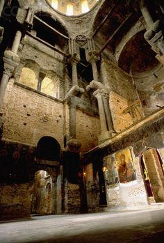Interior, Panagia Parigoritissa, Arta, Greece