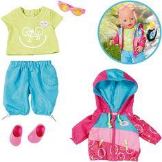 Zapf Creation Baby Born Play&Fun Fahrrad Outfit in Spielzeug, Puppen & Zubehör, Babypuppen & Zubehör   eBay!