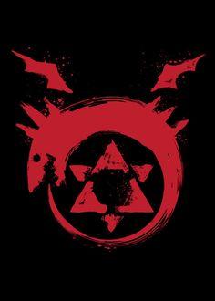 I am a Homunculus Anime & Manga Poster Print Fma Tattoo, Anime Tattoos, Fullmetal Alchemist Mustang, Fullmetal Alchemist Brotherhood, Full Metal Alchemist, Oroboros Tattoo, Tatoo Brothers, Pixel Art, Manga Anime