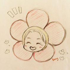Kpop Drawings, Art Drawings For Kids, Kawaii Drawings, Art Drawings Sketches, Cartoon Drawings, Bts Chibi, Bts Jungkook Birthday, Army Drawing, Outline Art