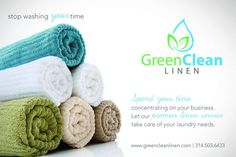 Customers love the services and are more than willing to pay the additional price to get this. Green clean linen are one of them, who offers free pick up and drop off to all our customers for their stuff in St. Louis.