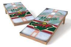 Minnesota Wild Single Cornhole Board - Wild