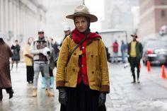 [Jennifer Eymère] On the Street…… West 33rd St., New York « The Sartorialist