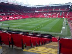 Old Trafford from the Stretford End - March 2015 Manchester United Football, Football Stadiums, Old Trafford, March, England, The Unit, Places, Manchester United Soccer, English