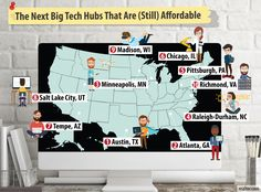 #SiliconValley #Shake-Up: These Are the Next Top #Tech Towns...