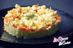 Mi Rincón, Mi Cocina - Blog de recetas de cocina - Repostería Creativa y Tradicional, Salados: Tarta Salada Vegetal | Salt Vegetal Cake