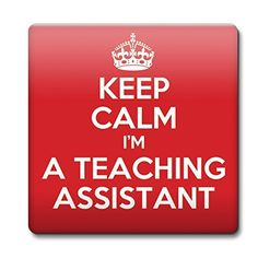 KEEP CALM I'm a Teaching Assistant Coaster - Coffee Cup G...…